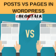 Difference Between Posts and Pages in WordPress (2019)