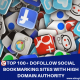 TOP 100+ DOFOLLOW SOCIAL BOOKMARKING SITES WITH HIGH DOMAIN AUTHORITY