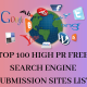 TOP 100 HIGH PR SEARCH ENGINE SITES LIST 2019