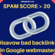 Disavow bad backlinks in Google webmaster