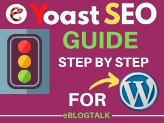 yoast seo set up